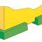 alfombra antivibración / resistente al aceite / de caucho nitrilo / modular