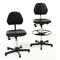silla giratoria para puestos de trabajo / asiento de poliuretano / ergonómica