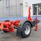 remolque de 1 eje / para equipamiento industrial / para contenedores / hidráulico