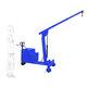 grúa móvil / plegable / con control eléctrico / ajustable en altura