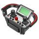 radiomando / con pulsador de parada de emergencia / de joystick / IP65