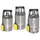 bomba para aguas residuales / eléctrica / sumergible / centrífuga