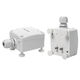 detector de fugas líquido / con alarma visual / con señal acústica / para edificio