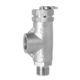 válvula de seguridad para agua / de aire / de gas / para depósito