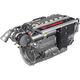 motor térmico diésel / de 6 cilindros / turbo / inyección directa