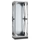 soporte antivibratorio para armario / rectangular / galvanizado / en chapas