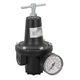 regulador de presión para aire comprimido / para gas neutro / de membrana / monoetapa