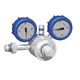 regulador de presión para gas / de membrana / de muelle / monoetapa