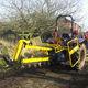 zanjadora con cadena / montada en tractor