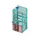 montacarga de plataforma / eléctrica / para transporte en posición vertical / industrial