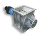 válvula rotativa para transporte neumático / para material a granel / zócalo cuadrado / antideflagrante