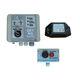 detector de alta tensión / de media tensión / radio / con alarma visual