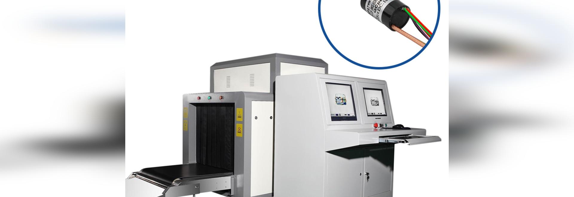 Anillo colector del escáner de rayos X