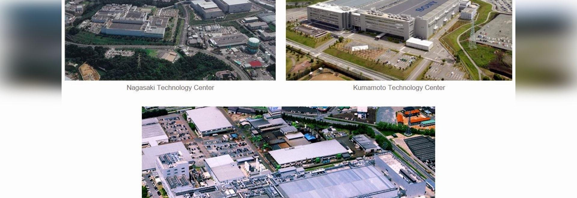 Capacidad de producción de los aumentos de Sony para los sensores apilados del Cmos