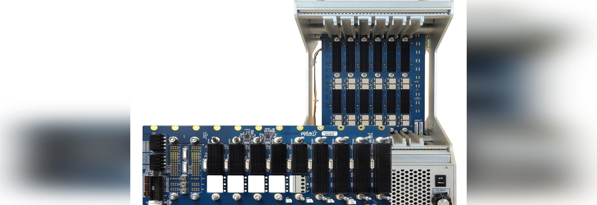 El chasis OpenVPX proporciona interfaces de RF
