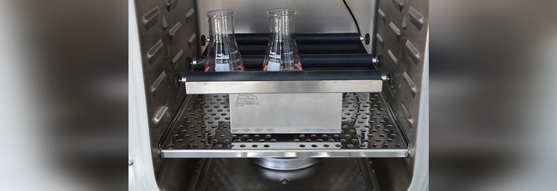Coctelera giratoria de la CARPETA para los cultivos celulares de la suspensión en la incubadora del CO2