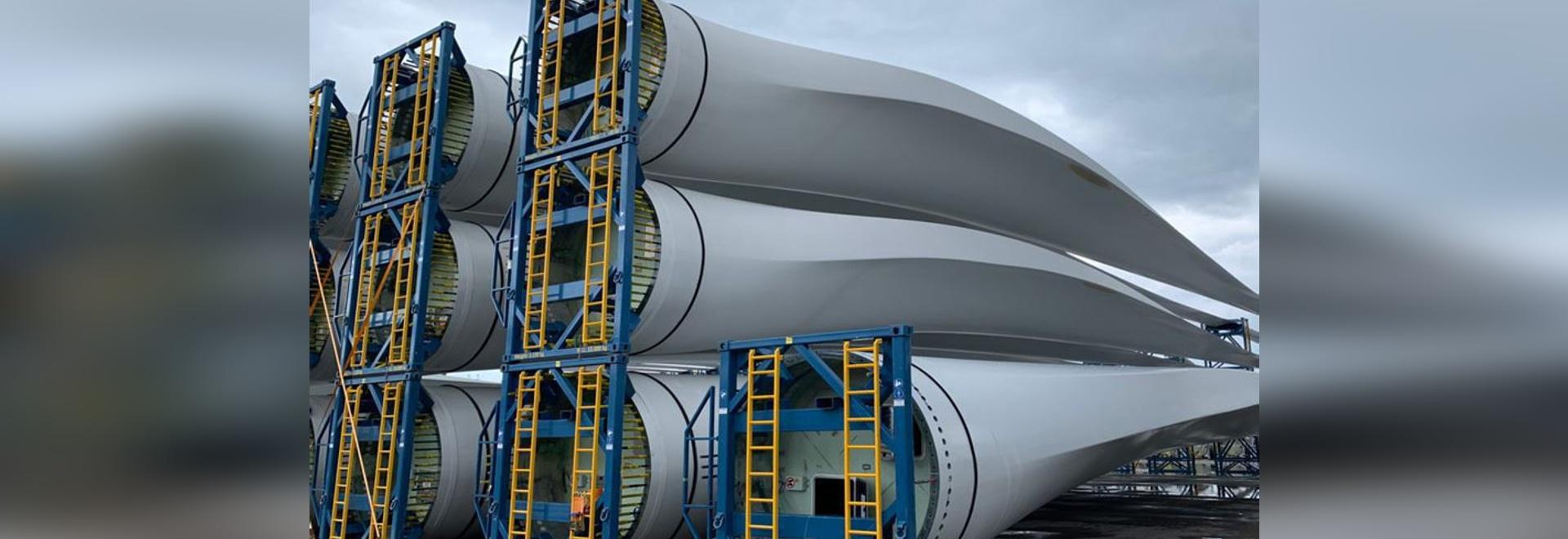 Compuestos reciclados de palas de aerogeneradores utilizados para el co-procesamiento de cemento