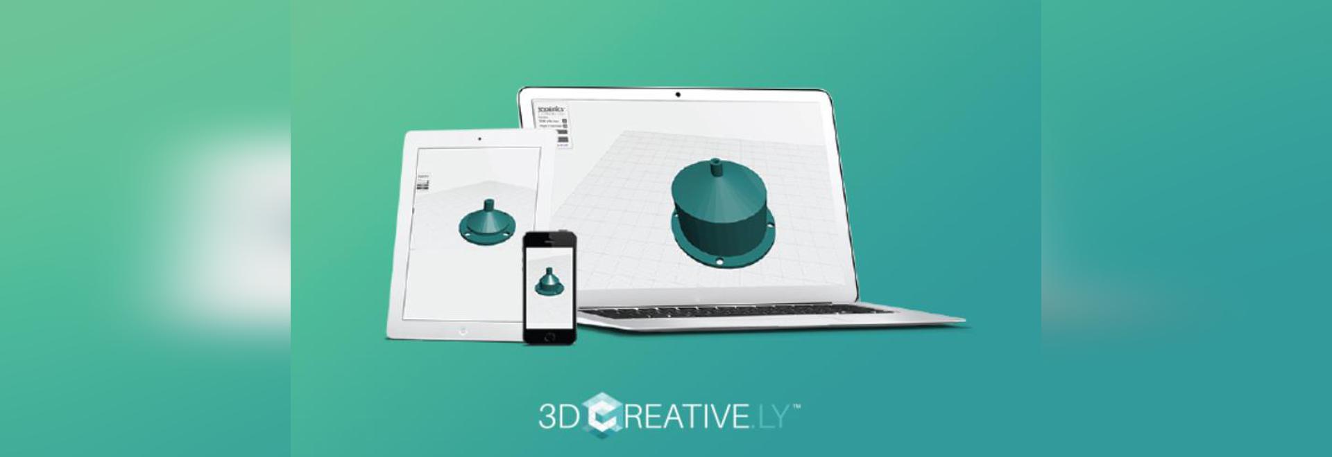 Los creador del sistema que cultivaba un huerto de interior 3Dponics a lanzar Nube-basaron 3D que modelaba app 3Dcreative.ly