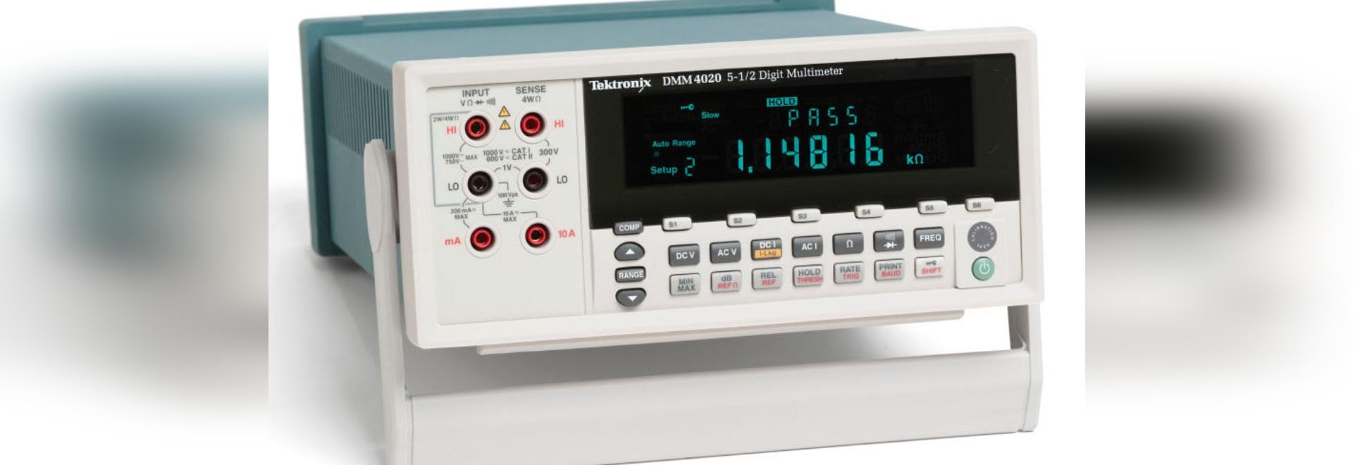 NUEVO: multímetro digital de Keithley Instruments