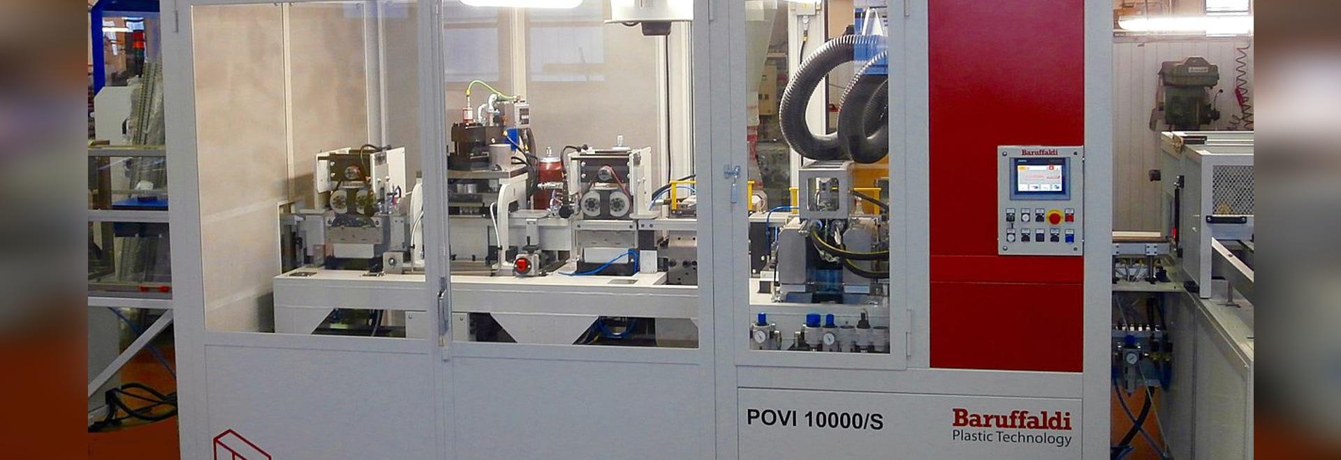 Programa de la producción de Baruffaldi para los conductos de cableado de PC-ABS