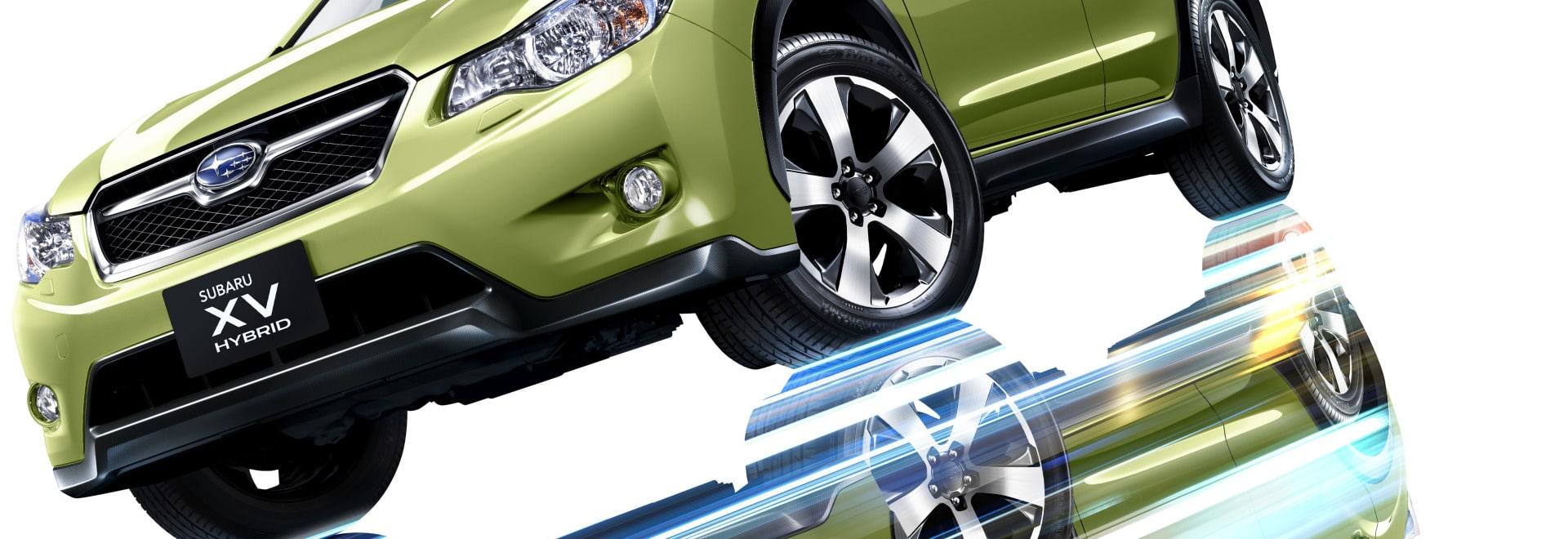 Prueba híbrida de avance del vehículo de Subaru con la simulación del Hardware-en--Lazo