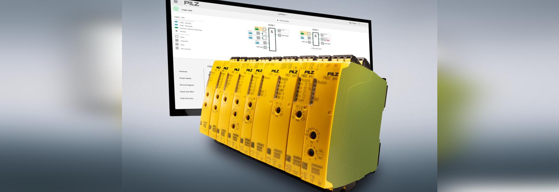 Relé de seguridad modular myPNOZ