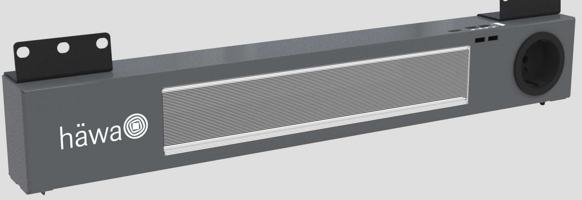 Sensor operado por LED de luz del gabinete de control  häwa