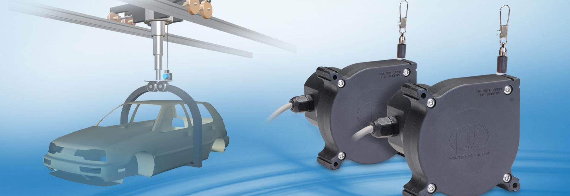Sensores robustos de la dislocación del drenaje-alambre – wireSENSOR WPS-MK88-U45R