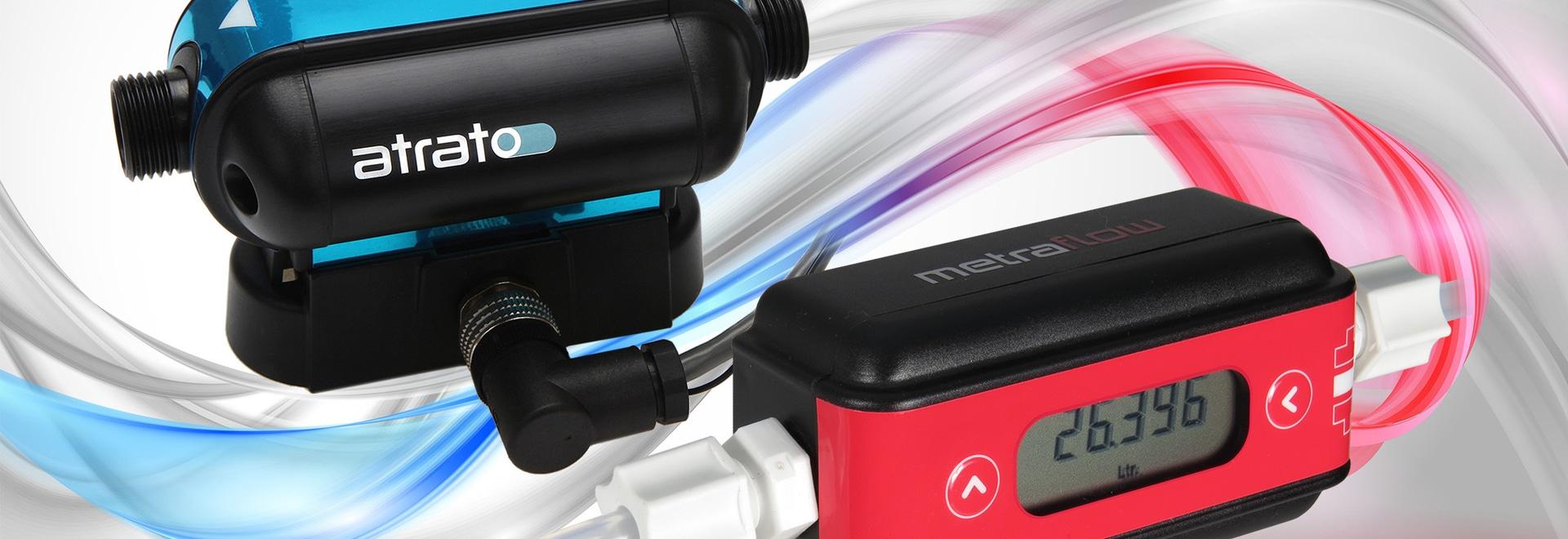 El software del medidor de flujo permite la sintonía con la señal óptima de la aplicación