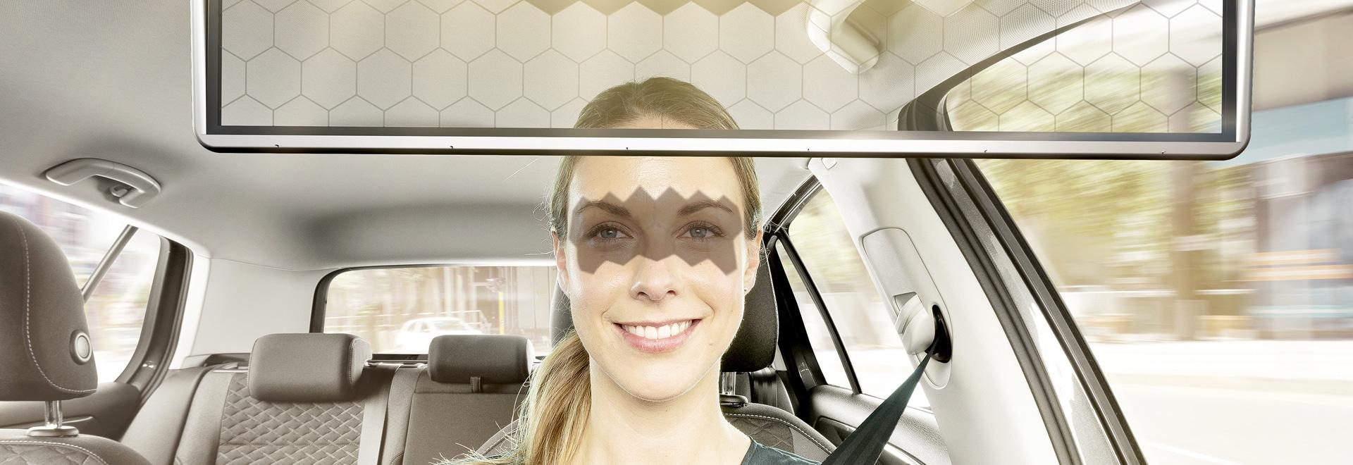 El visor virtual de Bosch bloquea dinámicamente el sol de tus ojos