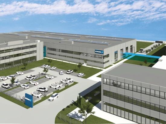 Nuevo edificio en Mengen