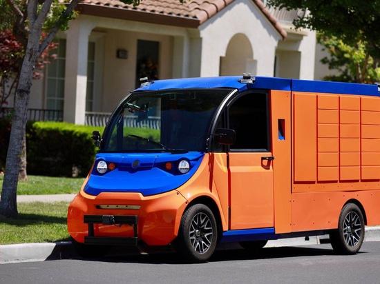 Boxbot lanza el sistema de entrega de paquetes de última milla con conductor automático