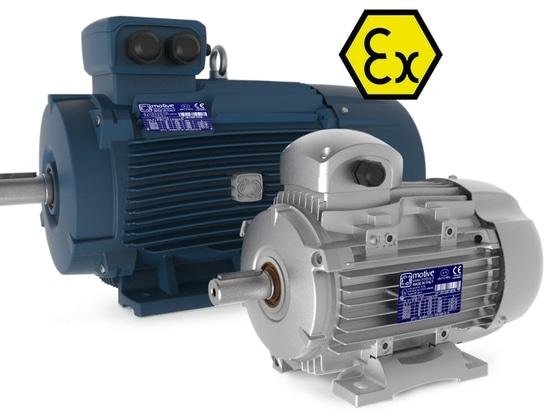 motores de aluminio y de hierro ATEX