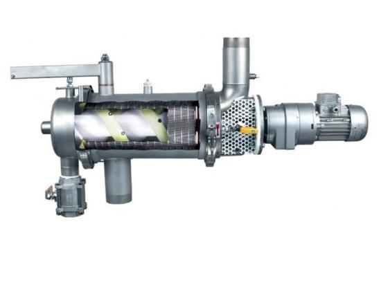 Filtros industriales automáticos con autolimpieza para resinas