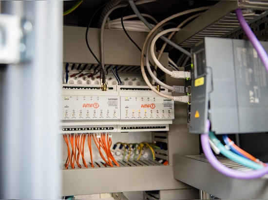AMF presenta tecnología de comunicación inalámbrica para la fabricación