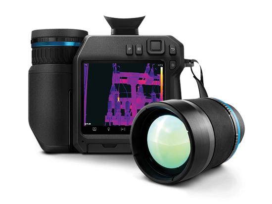 La cámara térmica agiliza las inspecciones industriales