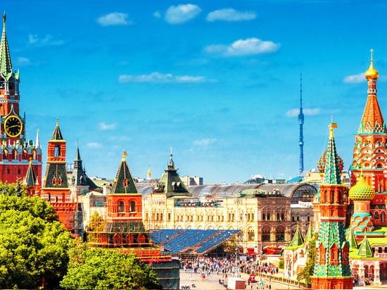 Moscú - un montón de vistas impresionantes