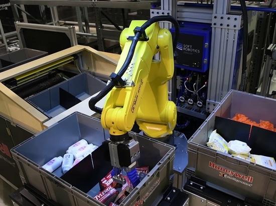 FANUC se une a la ronda de financiación de la serie B de Soft Robotics, que ha superado las expectativas