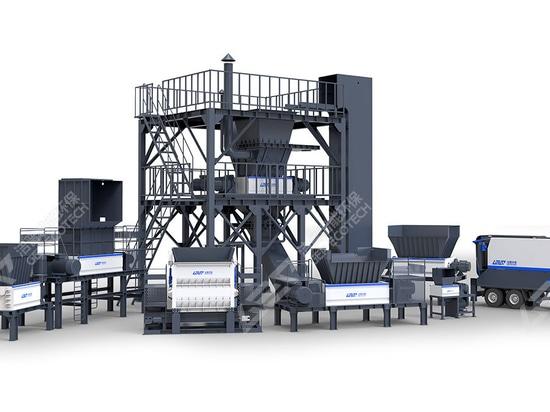 GEP ECOTECH Línea de producción de eliminación de biomasa para la utilización integral de la paja de alta eficiencia