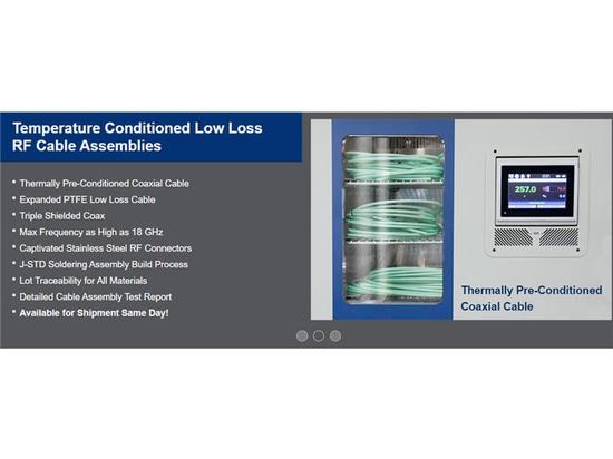 Microwave Journal y Pasternack discuten una revolución en los ensamblajes de cables de alta fiabilidad y rápido giro
