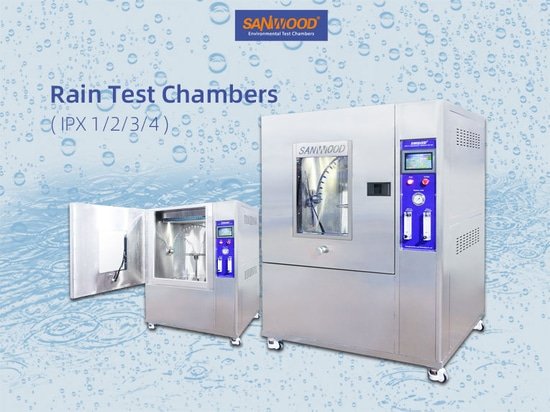 Cámara de prueba de lluvia IPX1/2/3/4- Cámara de prueba resistente a la intemperie