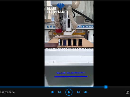 Video de trabajo de la máquina CNC