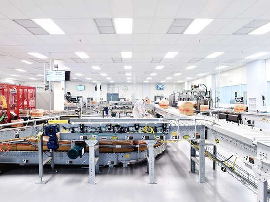 La fábrica de Edesia en Rhode Island