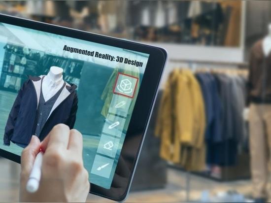 Realidad virtual mixta aumentada para diseñar ropa en un programa de diseño de moda en 3D
