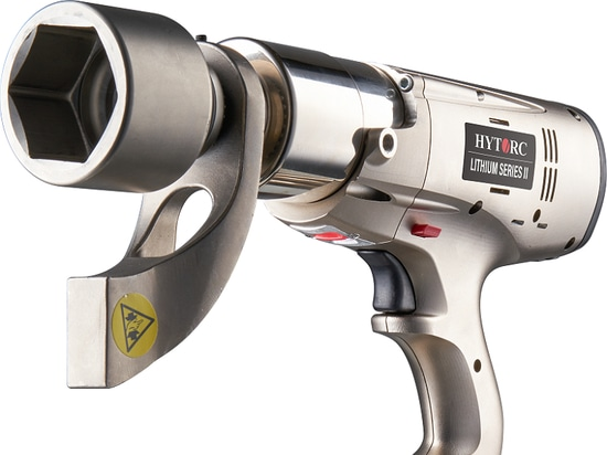 La multi-galardonada herramienta eléctrica de torsión LITHIUM SERIE II de HYTORC ofrece un control y una utilidad incomparables
