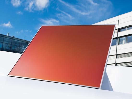 El Instituto Fraunhofer está desarrollando módulos fotovoltaicos que pueden producirse en un espectro de colores individuales mediante una tecnología inspirada en las alas de las mariposas