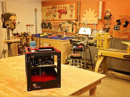 BoXZY, una impresora toda junta 3D, el molino del CNC y el grabador del laser lanza en Kickstarter
