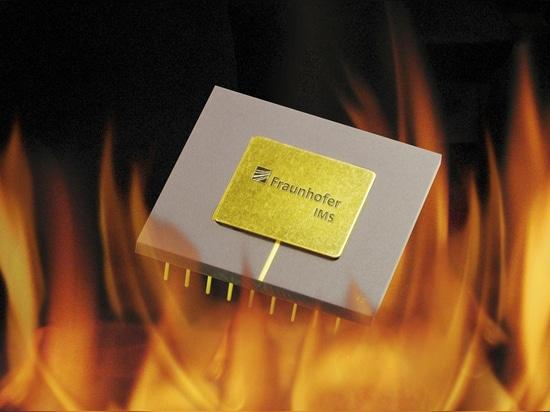 Custodia de su fresco en el °C 300: los microchipes especialmente compactos del IMS de Fraunhofer.