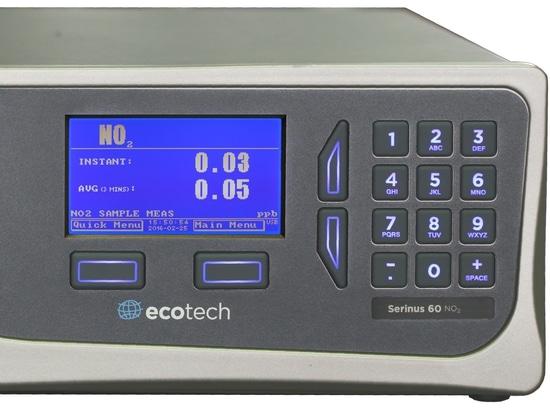 Analizador directo del dióxido de nitrógeno del Serinus 60 de Ecotech