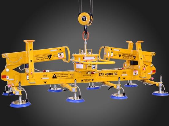 ANVER Corporation anuncia la gaviota mecánica Wing Vacuum Lifter con los soportes que parquean que se resumen incorporados
